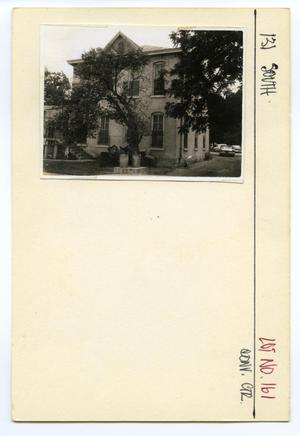 Primary view of object titled '131 South Lot No. 161-multi family dwelling'.