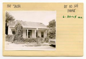 Primary view of object titled '134 South Lot No. 144- single family dwelling'.