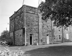 Primary view of object titled '[Kendall County Courthouse, (East elevation)]'.