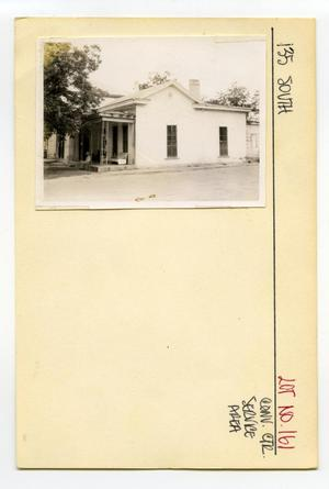 Primary view of object titled '135 South Lot No. 161-multi-family dwelling'.