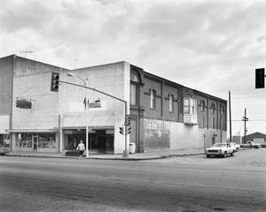 Primary view of object titled '[Mississippi Store, (Northwest oblique)]'.