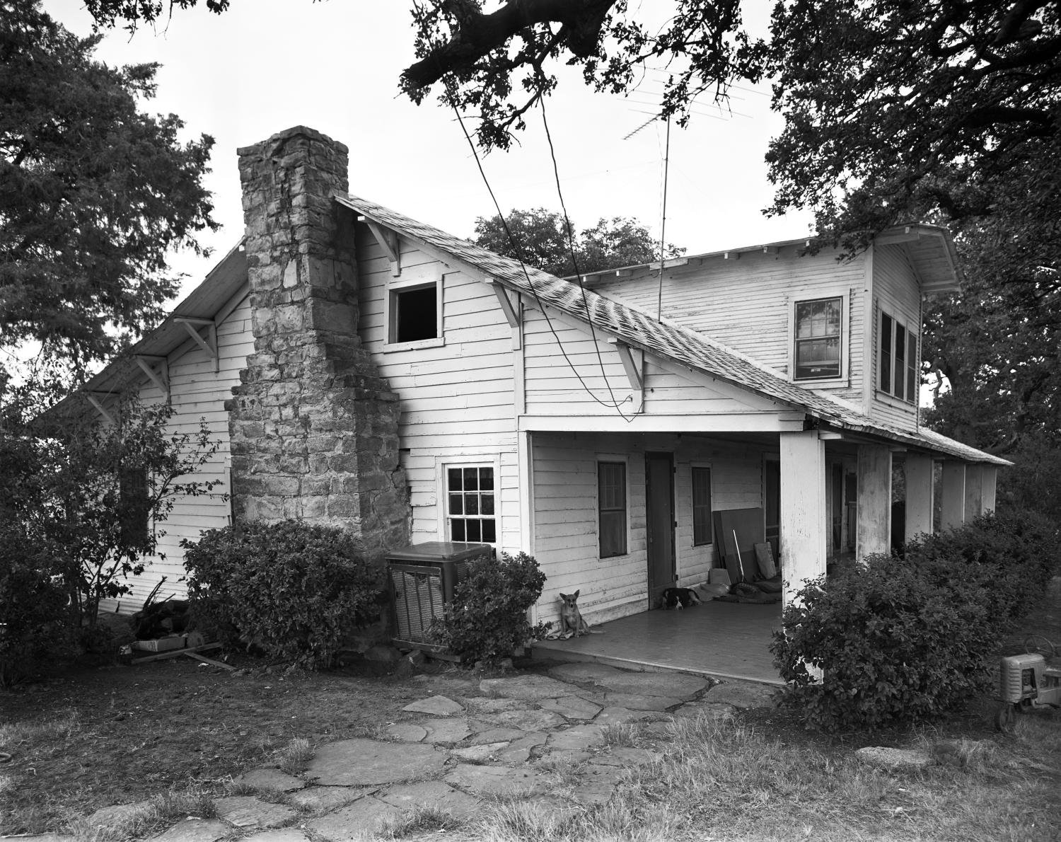 [John J. Harrell House, (Southwest oblique)]                                                                                                      [Sequence #]: 1 of 1