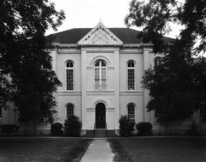 Primary view of object titled '[Jasper County Courthouse, (North elevation)]'.