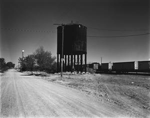 Primary view of object titled '[Railroad Water Tower]'.