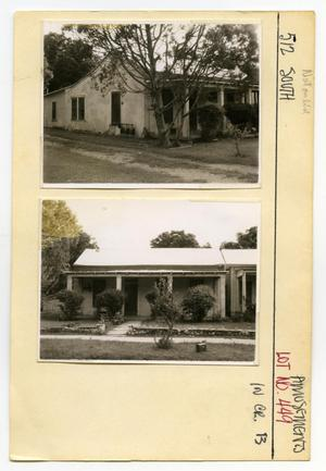 Primary view of object titled '512 South Lot No. 449-single family dwelling'.