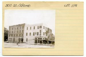 Primary view of object titled '300 South Alamo Lot No. 198-18 Hotel'.