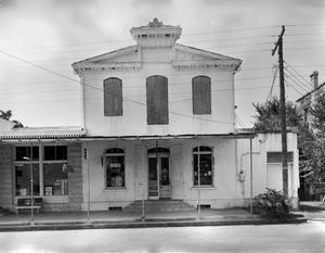 Primary view of object titled '[Peter Ingenhuett Store, (North elevation)]'.