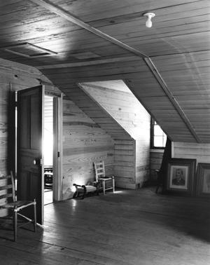 Primary view of object titled '[Monroe-Cook House, (Attic)]'.