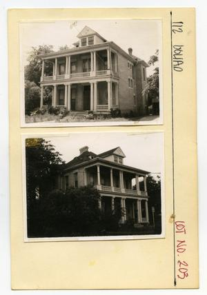 Primary view of object titled '112 Goliad Lot No. 203- multi-family dwelling'.