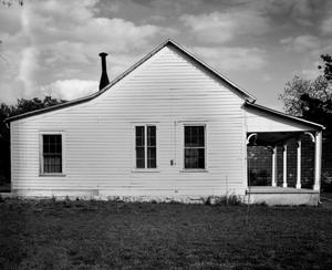 Primary view of object titled '[Otto Brinkman House, (West elevation)]'.