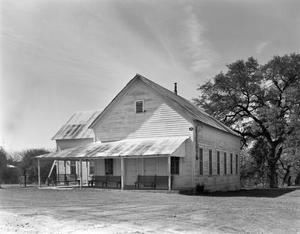 Primary view of object titled '[Waring Schoolhouse]'.