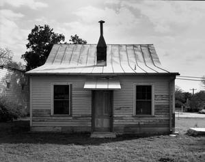 Primary view of object titled '[Otto Brinkman House, (North elevation)]'.