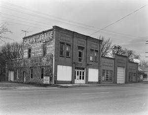 Primary view of object titled '[Sach's Garage Commercial Building]'.