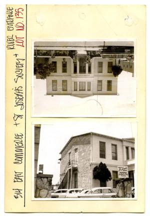 Primary view of object titled '314 East Commerce Lot No. 135-St. Joseph'.