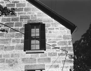 Primary view of object titled '[Hermann Stieler Ranch House, (Northeast window detail)]'.