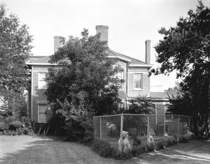 Primary view of object titled '[Warren-Crowell House, (Northwest facade)]'.