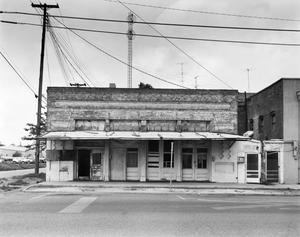Primary view of object titled '[Terrell Times Star Building, (East elevation)]'.