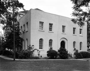 Primary view of object titled '[Jasper County Courthouse, (Northwest oblique)]'.