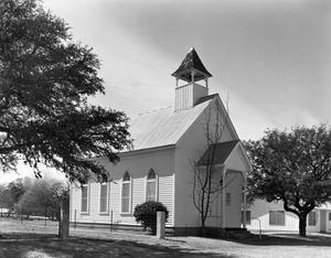 Primary view of object titled '[Waring Baptist Church]'.