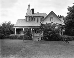 Primary view of object titled '[Drew Smith House, (East elevation)]'.
