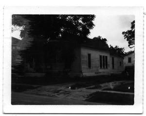 Primary view of object titled 'La Fitte D-single family dwelling'.