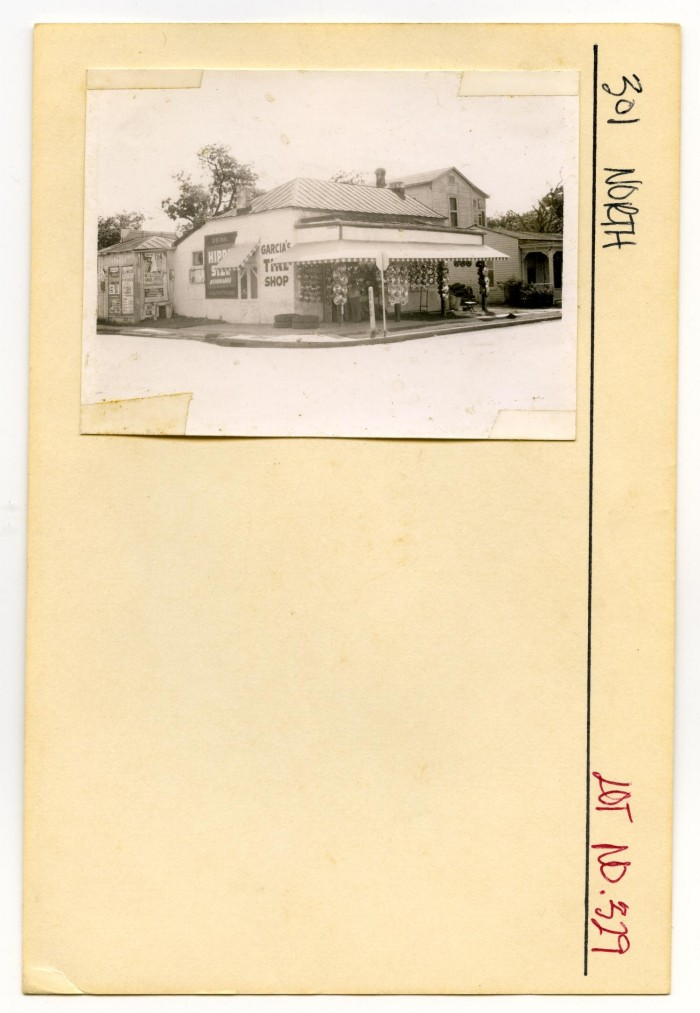 Garcias Tire Shop >> 301 North Lot No 329 Garcia S Tire Shop The Portal To Texas History