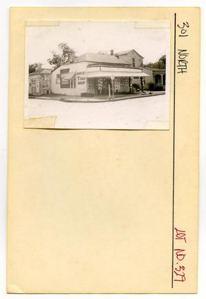 Primary view of object titled '301 North Lot No. 329-Garcia's Tire Shop'.