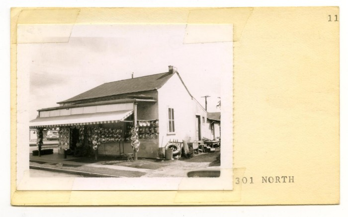 Garcias Tire Shop >> 301 North Lot No 312 Garcia S Tire Shop The Portal To Texas History