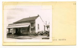 Primary view of object titled '301 North Lot No. 312- Garcia's Tire Shop'.
