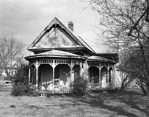 Primary view of object titled '[LaRoe-Marsee House, (West elevation)]'.