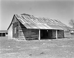 Primary view of object titled '[Robert Gass House and Barn]'.