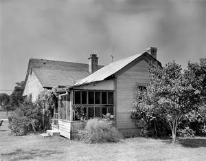 Primary view of object titled '[Michael Lindner House, (Northeast oblique)]'.
