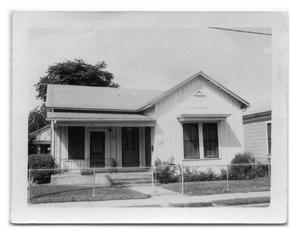 Primary view of object titled '316 North-single family dwelling'.