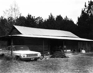 Primary view of object titled '[Andrew Smyth House, (Northwest oblique outbuilding)]'.