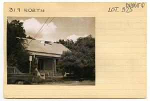 Primary view of object titled 'Small home at 319 North'.