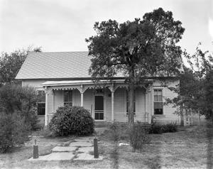 Primary view of object titled '[W.S. Mahanay House, (East facade)]'.