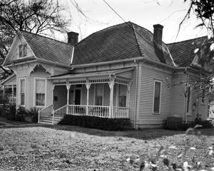 Primary view of object titled '[McClung-Symmonds House, (Northwest elevation)]'.
