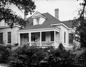 Primary view of object titled '[Hubert Ingenhuett House, (Southeast oblique)]'.
