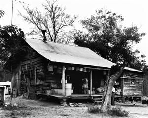 Primary view of object titled '[Pace Log Cabin]'.