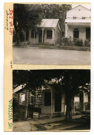 Primary view of object titled '115 Victoria Lot No. 245-single family dwelling'.