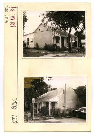 Primary view of object titled '227 Rusk Lot No. 169-single family dwelling'.