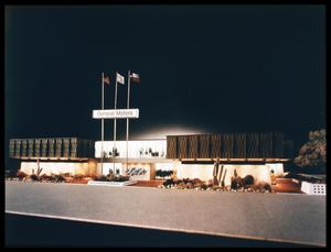 Primary view of object titled 'General Motors Pavilion'.