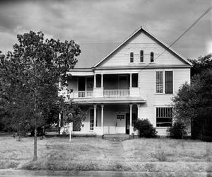Primary view of object titled '[John W. Floore House, (East facade)]'.