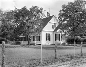 Primary view of object titled '[D.A. Foote House, (Southwest oblique)]'.