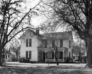 Primary view of object titled '[Bivins-Warren House, (Northeast elevation)]'.