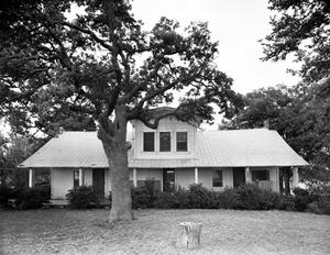 Primary view of object titled '[John J. Harrell House, (West elevation)]'.