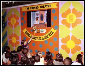 Primary view of object titled 'Rainbo Puppet Theater'.