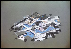 Primary view of object titled 'Overview of the waterways in HemisFair'.