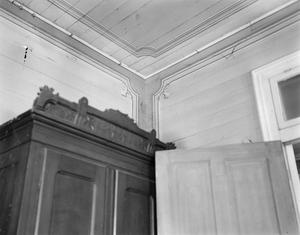 Primary view of object titled '[Richardson House, (Front right room stenciling detail)]'.