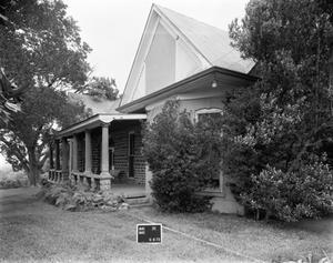 Primary view of object titled '[Wilson Hey House, (Northwest oblique)]'.
